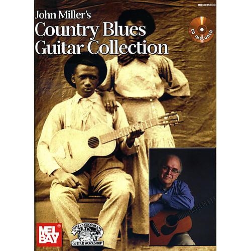 Mel Bay John Miller's Country Blues Guitar Collection Book/CD Set