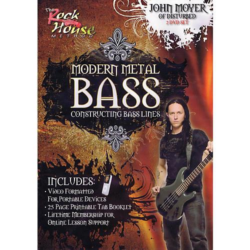 Rock House John Moyer Of Disturbed - Modern Metal Bass (Constructing Bass Lines) DVD