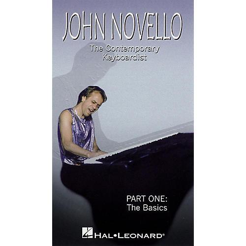 Hal Leonard John Novello - The Contemporary Keyboardist - The Basics Videos Series Video Performed by John Novello