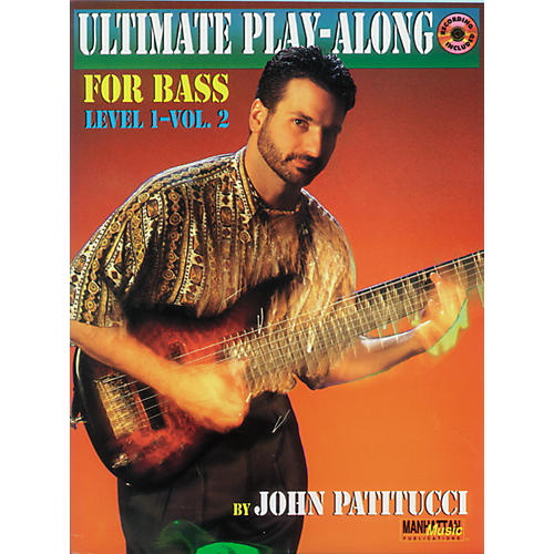 Alfred John Patitucci Ultimate Play-Along Bass, Level 1 - Volume 2 (Book/CD)
