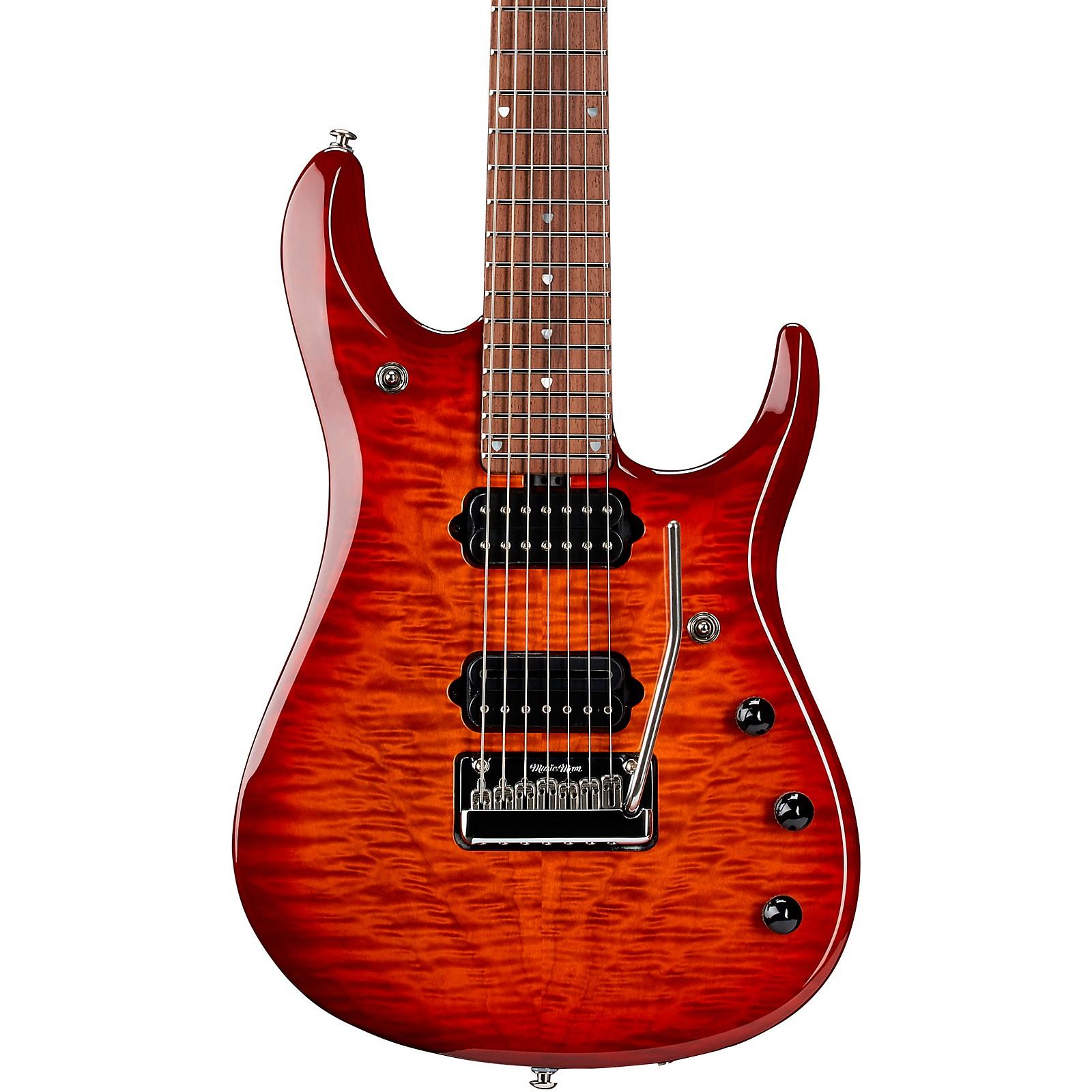 Ernie Ball Music Man John Petrucci 7 JP7 Flame Maple Top Rosewood Fingerboard Electric Guitar