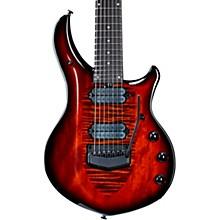 Ernie Ball Music Man John Petrucci Majesty 7 Black Hardware Electric Guitar