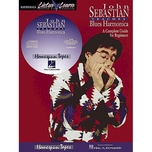 Homespun John Sebastian - Beginning Blues Harmonica Homespun Tapes Series Softcover with CD by John Sebastian