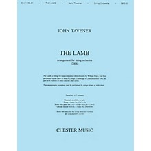 Music Sales John Tavener: The Lamb (String Orchestra Version) Score SATB