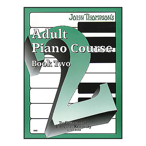 Willis Music John Thompson's Adult Piano Course Book Two