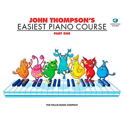 Willis Music John Thompson's Easiest Piano Course Part 1 Book/Online Audio