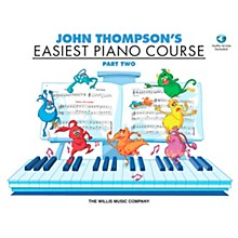 Willis Music John Thompson's Easiest Piano Course Part 2 Book/CD