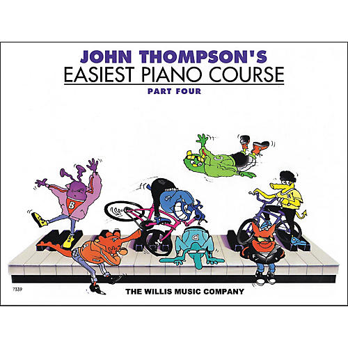 Willis Music John Thompson's Easiest Piano Course Part 4