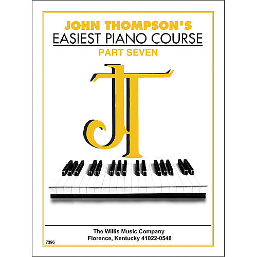 Willis Music John Thompson's Easiest Piano Course Part 7