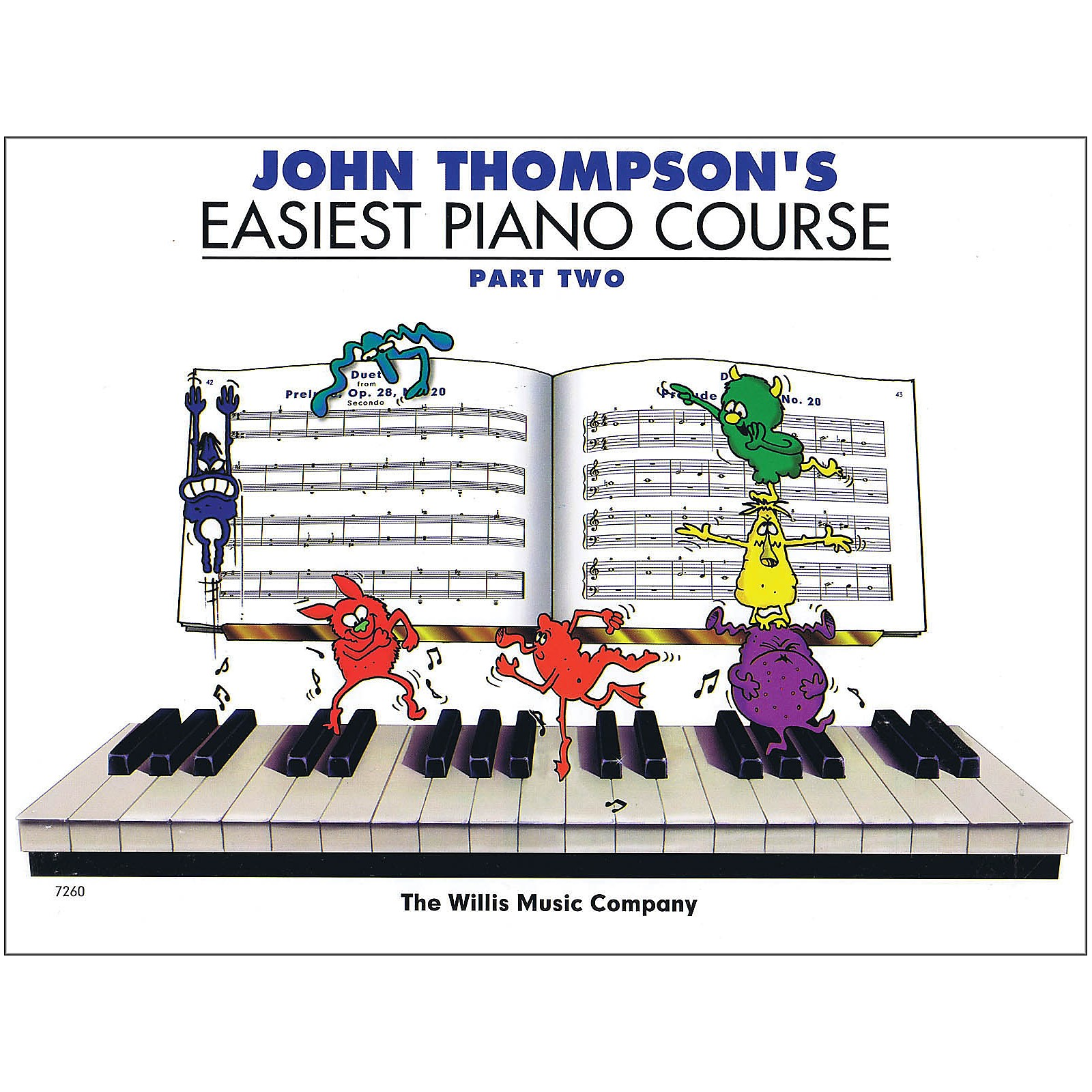 Hal Leonard John Thompson's Easiest Piano Course Part Two