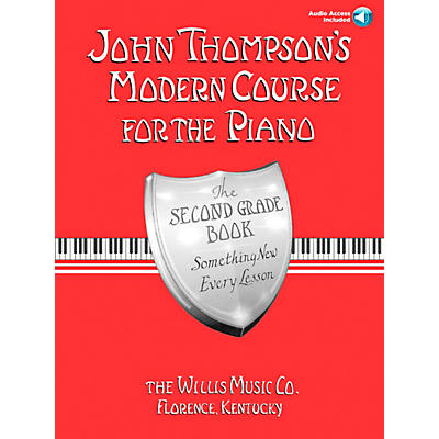 Willis Music John Thompson's Modern Course for Piano Grade 2 Book/Online Audio