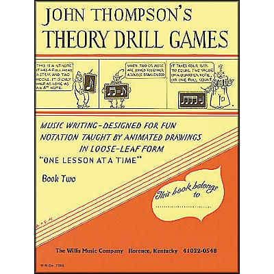 Willis Music John Thompson's Theory Drill Games Book 2