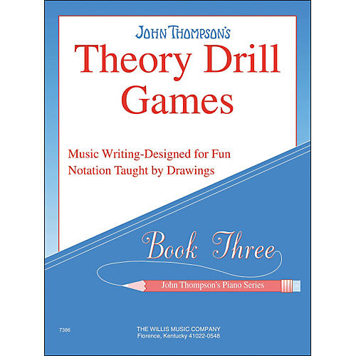 Willis Music John Thompson's Theory Drill Games Book 3
