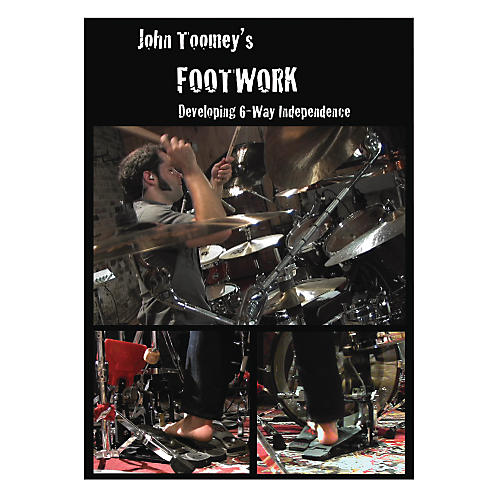 Alfred John Toomey's Footwork DVD