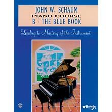 Alfred John W. Schaum Piano Course B The Blue Book B The Blue Book
