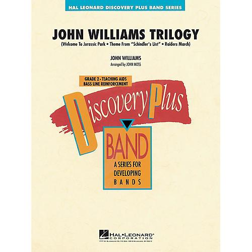 Hal Leonard John Williams Trilogy - Discovery Plus Concert Band Series Level 2 arranged by John Moss