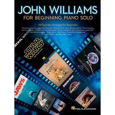 Hal Leonard John Williams for Beginning Piano Solo