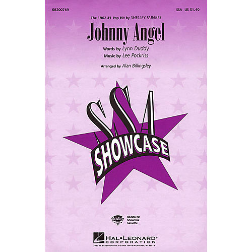 Hal Leonard Johnny Angel SSA by Shelley Fabares arranged by Alan Billingsley
