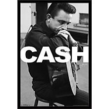 Johnny Cash - Cash Poster Framed Black