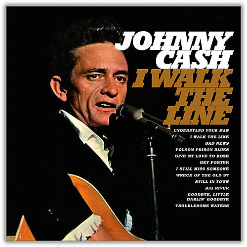 RED Johnny Cash - I Walk The Line