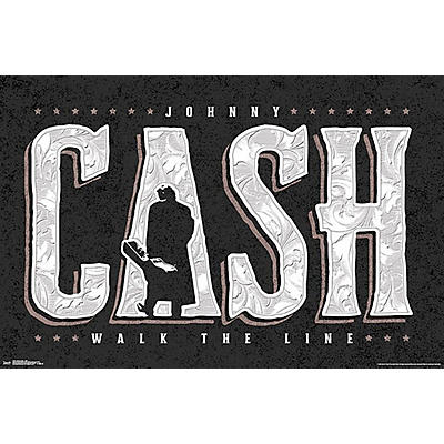 Trends International Johnny Cash - Walk the Line Poster