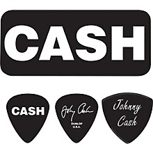 Dunlop Johnny Cash Bold Pick Tin with 6 Picks