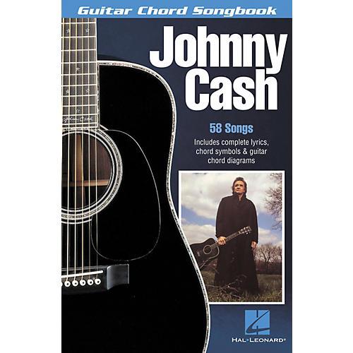 Hal Leonard Johnny Cash Guitar Chord Book