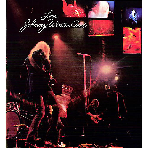 Alliance Johnny Winter - Johnny Winter AND Live