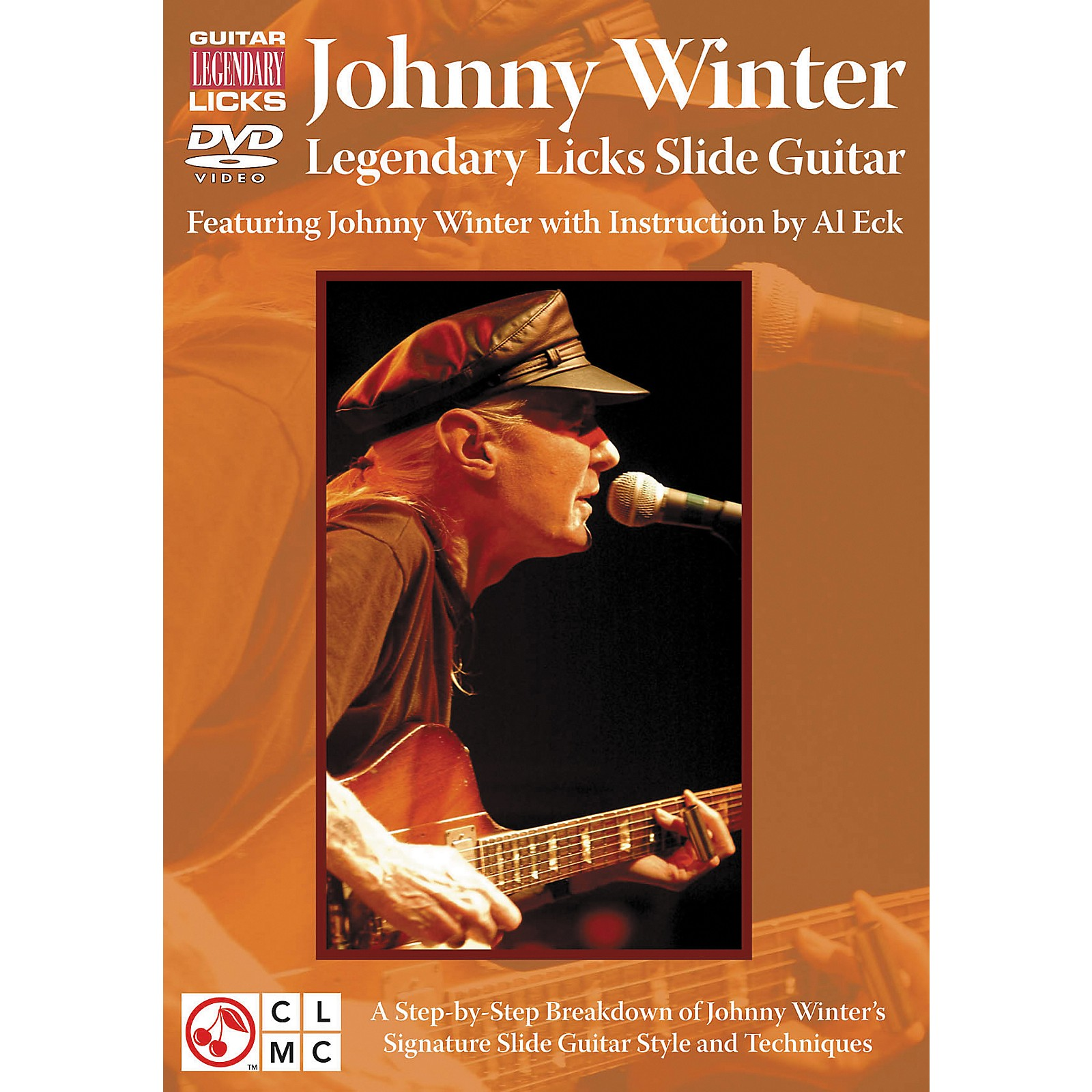 Cherry Lane Johnny Winter Legendary Licks Slide Guitar DVD