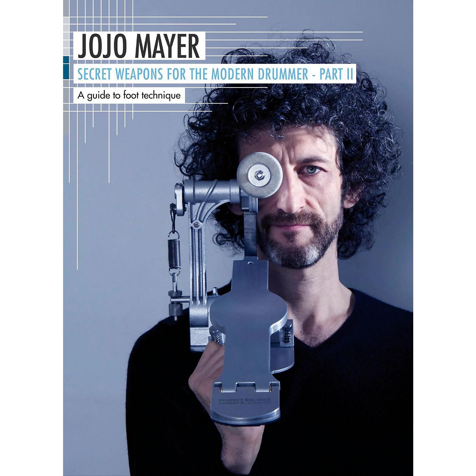 Hudson Music Jojo Mayer Secret Weapons for The Modern Drummer Pt. 2: A Guide to Foot Technique (3-DVD)