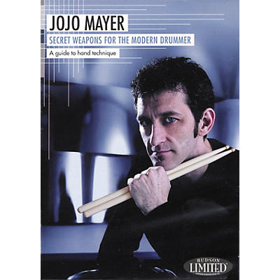 Hudson Music Jojo Mayer Secret Weapons for the Modern Drummer 2-DVD Set
