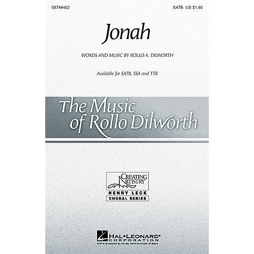 Hal Leonard Jonah TTB Composed by Rollo Dilworth