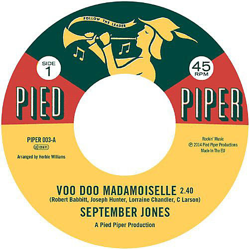 Alliance Jones September - Voo Doo Mademoiselle