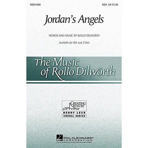 Hal Leonard Jordan's Angels 2-Part Composed by Rollo Dilworth