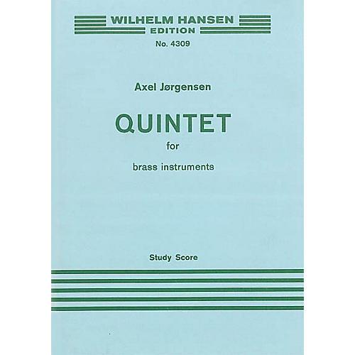 Music Sales Jorgensen Quintet For Brass 2 Tpts/Hn/Tbn/Tba M/S Music Sales America Series by Axel Jørgensen