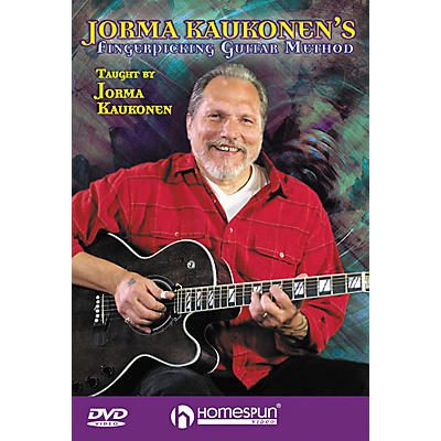 Homespun Jorma Kaukonen's Fingerpicking Guitar Method 2-Video Set (DVD)