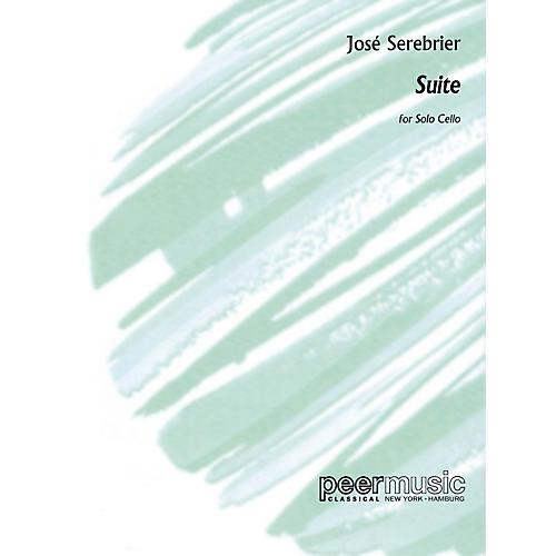 Peer Music José Serebrier - Suite (Solo Cello) Peermusic Classical Series Composed by José Serebrier