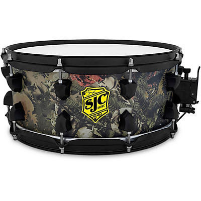 SJC Drums Josh Dun Trench Camo Snare Drum