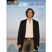 Hal Leonard Josh Groban - Pro Vocal Series for Male Singers Volume 33 Book/CD