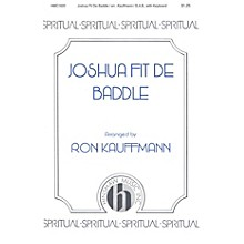 Hinshaw Music Joshua Fit de Baddle SAB arranged by Ronald Kauffmann