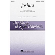 Hal Leonard Joshua TTBB DIVISI Arranged by Rollo Dilworth