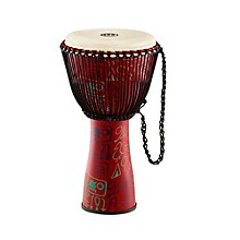 Open Box Meinl Journey Series Rope Tuned Fiberglass Goatskin Head Djembe