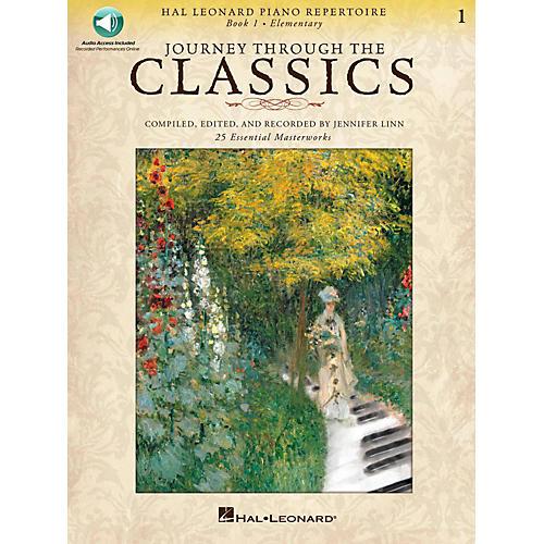 Hal Leonard Journey Through The Classics - Book 1 Elementary Book/Online Audio