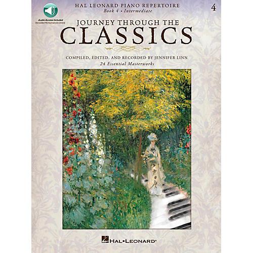 Hal Leonard Journey Through The Classics - Book 4 Intermediate Book/Online Audio