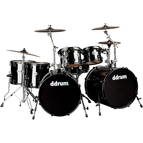 Ddrum Journeyman2 Double Bass 7-Piece Drum Set