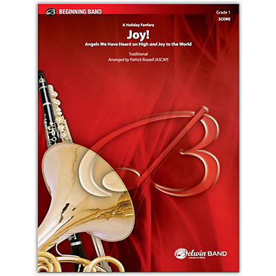 BELWIN Joy! A Holiday Fanfare Conductor Score 1 (Very Easy)