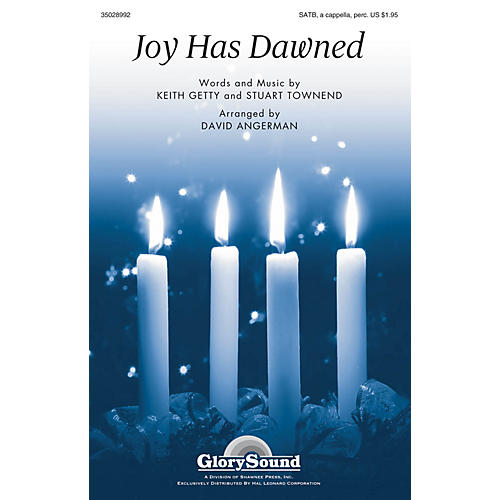 Shawnee Press Joy Has Dawned SATB arranged by David Angerman