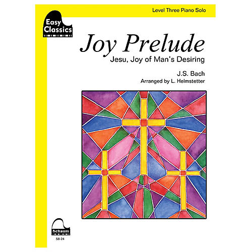 SCHAUM Joy Prelude Educational Piano Series Softcover