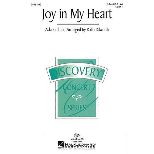 Hal Leonard Joy in My Heart VoiceTrax CD Arranged by Rollo Dilworth
