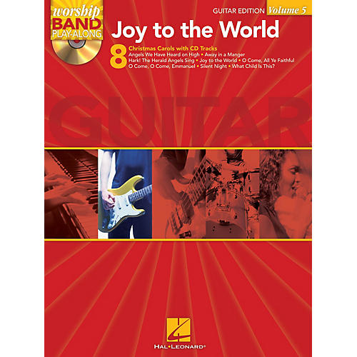 Hal Leonard Joy to the World - Guitar Edition Worship Band Play-Along Series Softcover with CD Composed by Various
